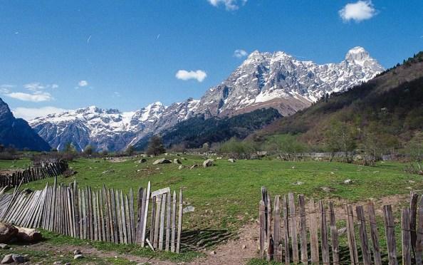 Mount Ushba, taken during my trip to Svaneti last May